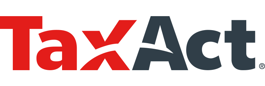 A picture of the TaxAct Tax Logo