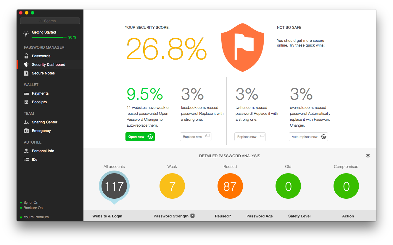 Where can you find reviews for Dashlane?