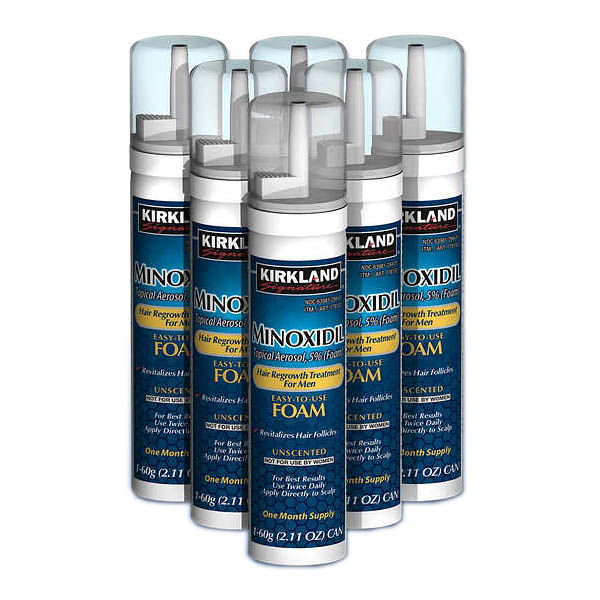 Kirkland Signature Regrowth Treatment Minoxidil Foam for Men