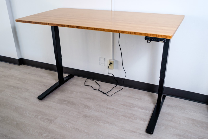 Full Shot of UpLift standing desk