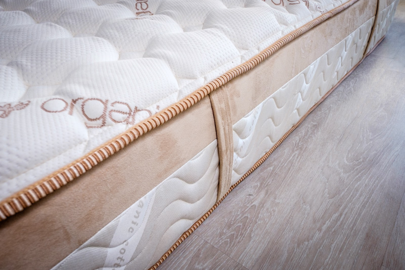 Close-up of Loom & Leaf by Saatva for Best Mattress