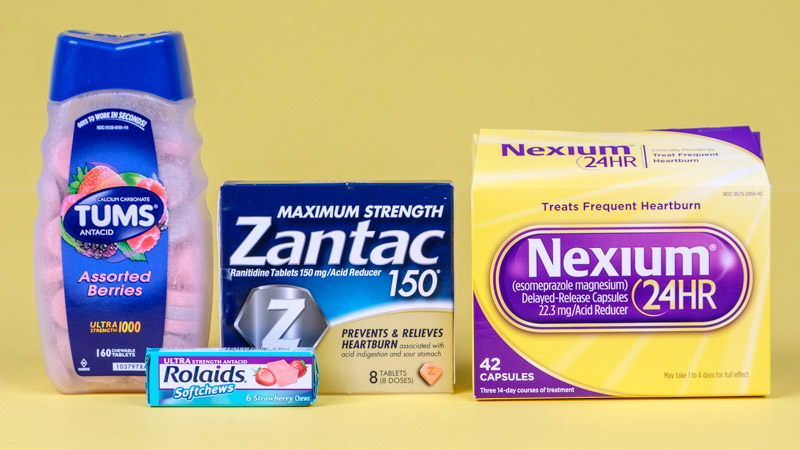 Prescription medicine acid reflux