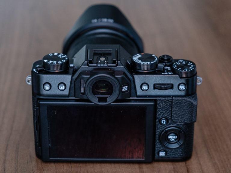 Fuji Back for Digital Camera