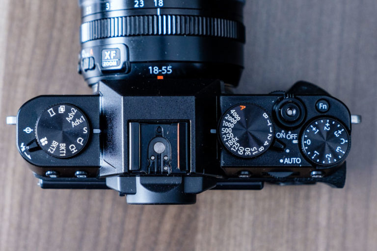 Fuji Top for Digital Camera