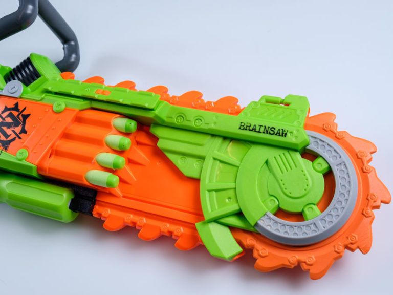 Brainsaw for Nerf Gun