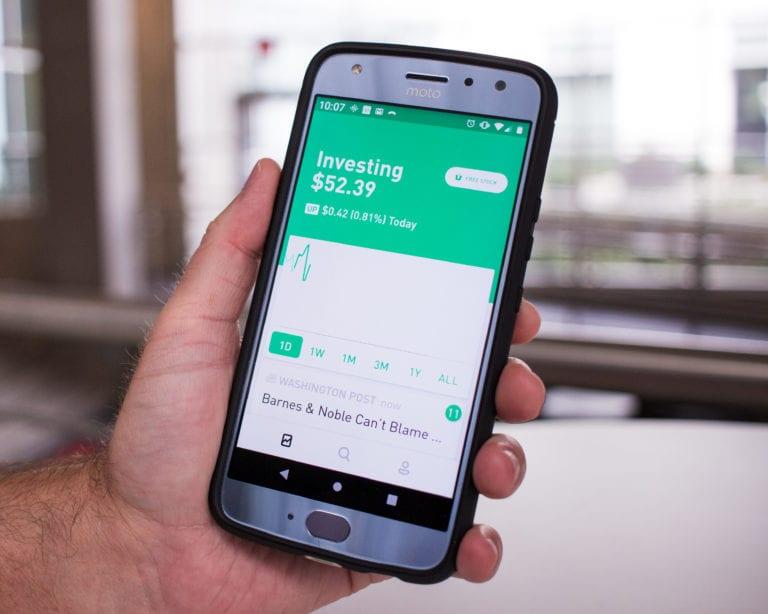 Application mobile Robinhood