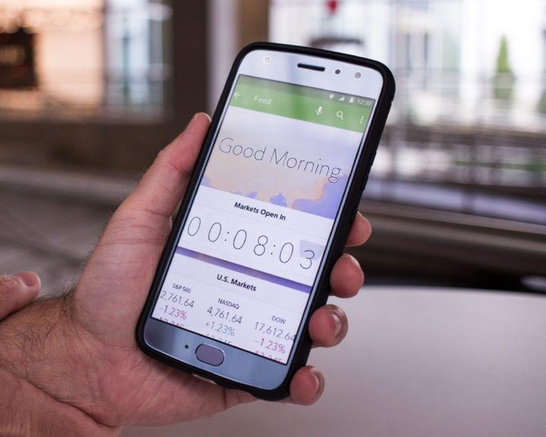 Application mobile Fidelity