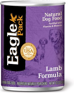 Lamb Earthborn Holistic Canned Food Ingredients
