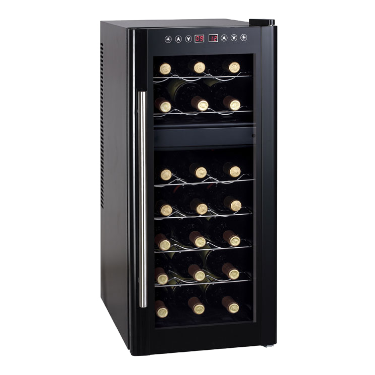 Sunpentown Dual Zone Thermo Electric Wine Cooler With Heating