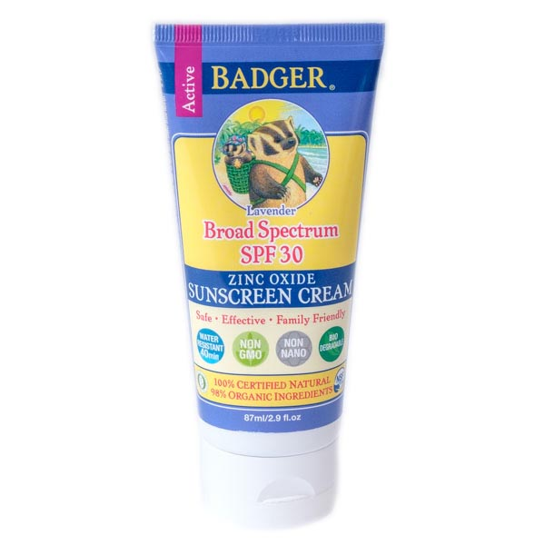 Badger Lavender Sunscreen Cream SPF 30