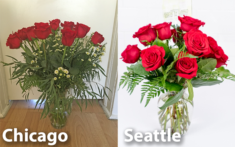 The Chicago Bouquet Was Delivered