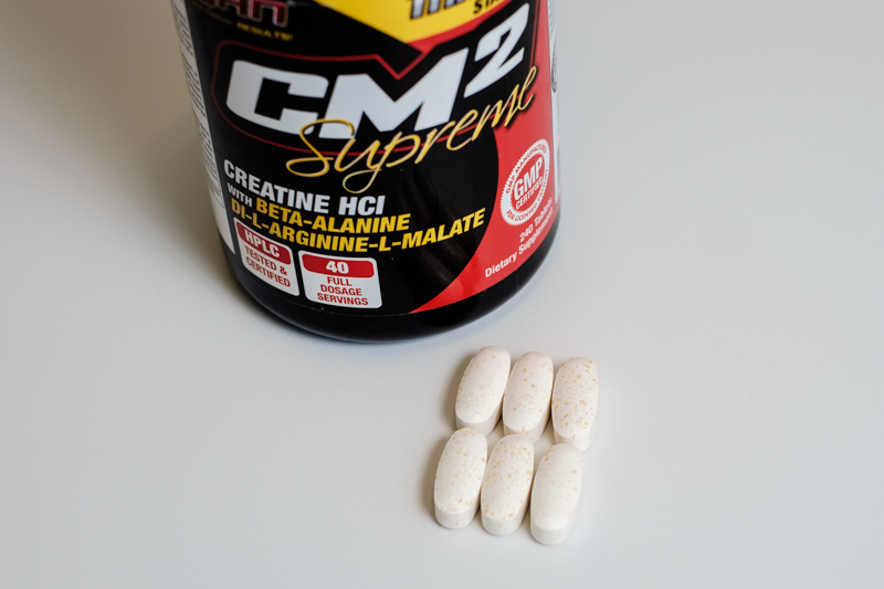 CM2 for Pre-workout Supplements