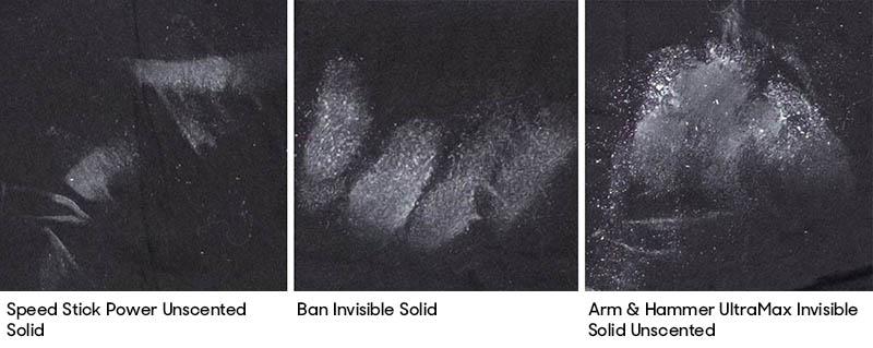 Speed-Stick-Comparison-Labeled for Antiperspirant