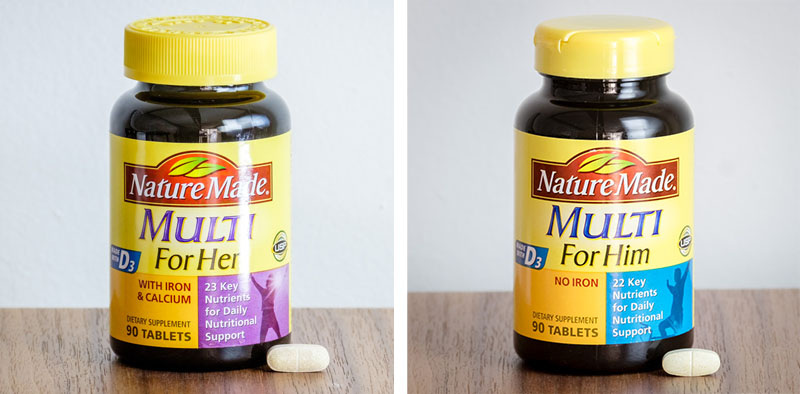 Nature-Made-Collage Multivitamins