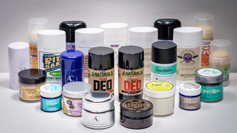 Large Group Shot for Natural Deodorant