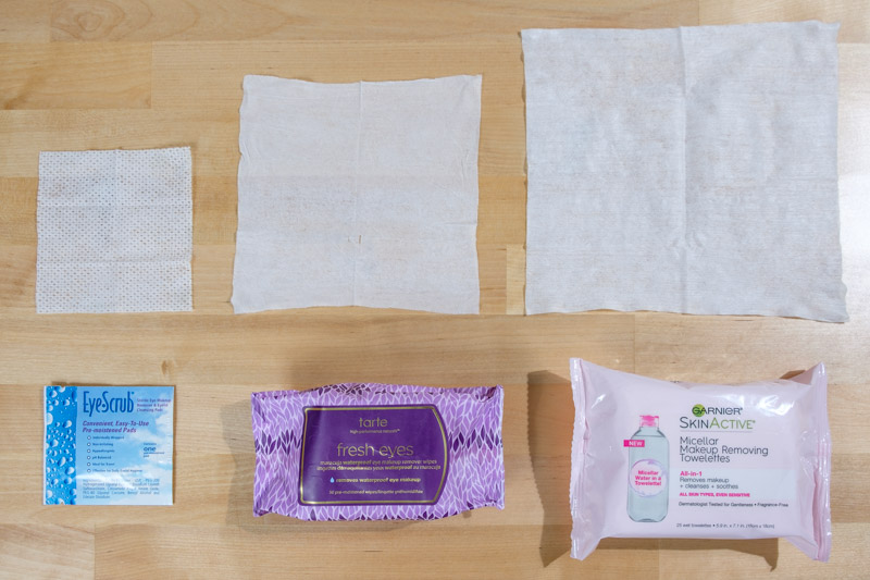 Size Comparison for Eye Makeup Remover