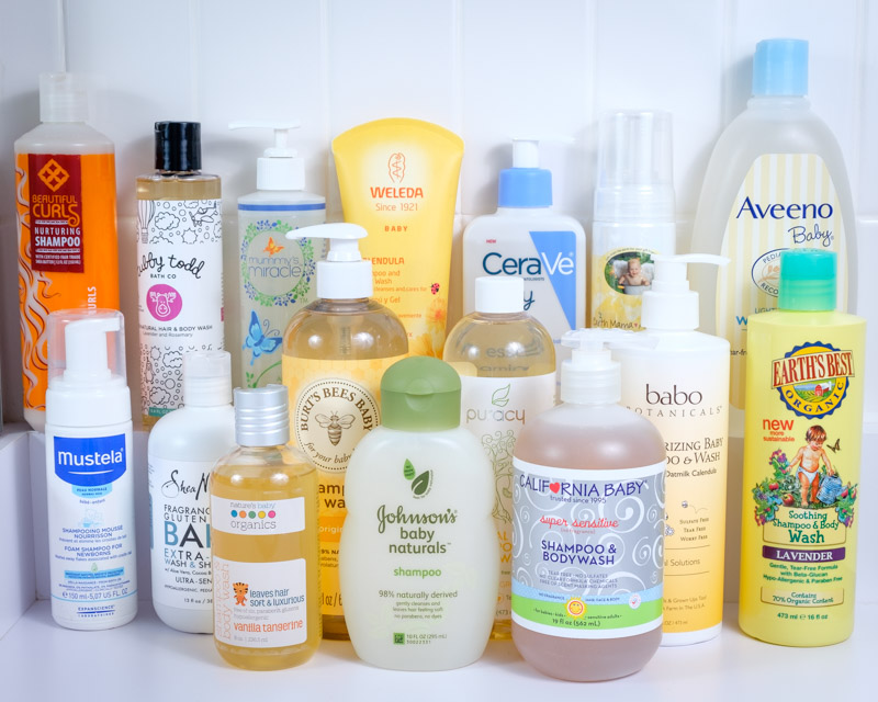 Best Natural Baby Wash For Sensitive Skin