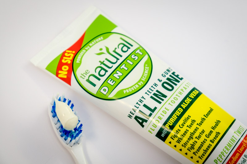 Natural-Dentist--Toothpaste to go after the second paragraph of each minireview