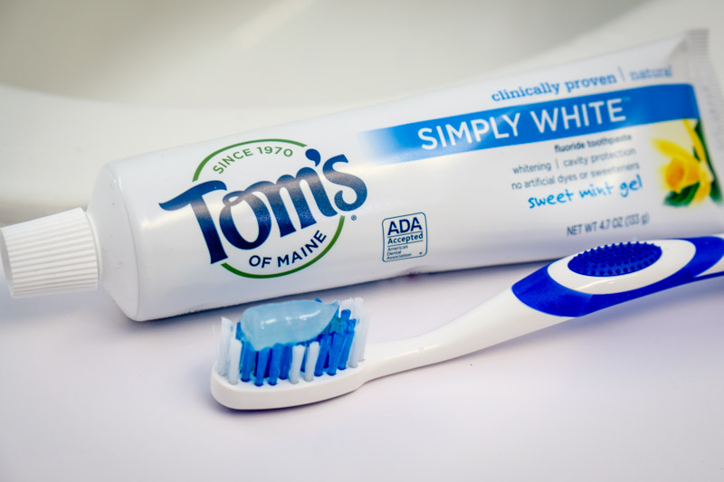 Toms-Close-Up for Best Toothpaste
