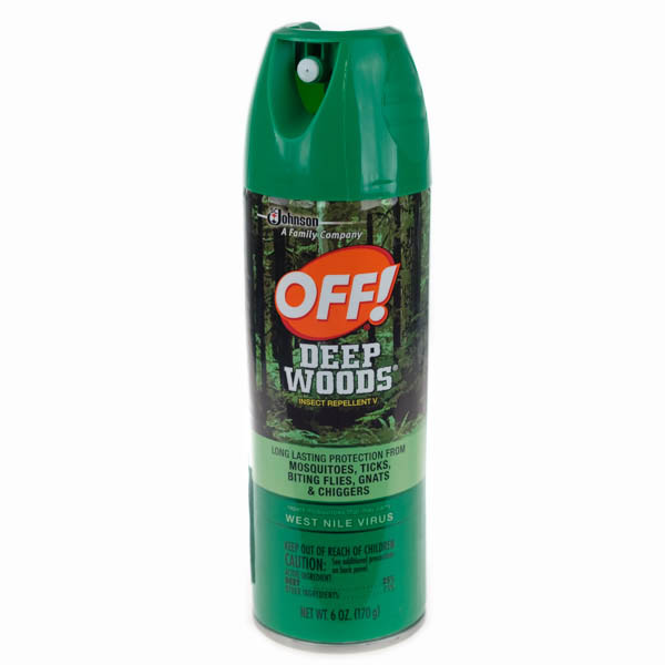 Off Deep Woods Insect Repellent V