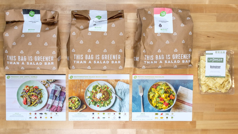HelloFresh Close-up for Meal-Delivery Service