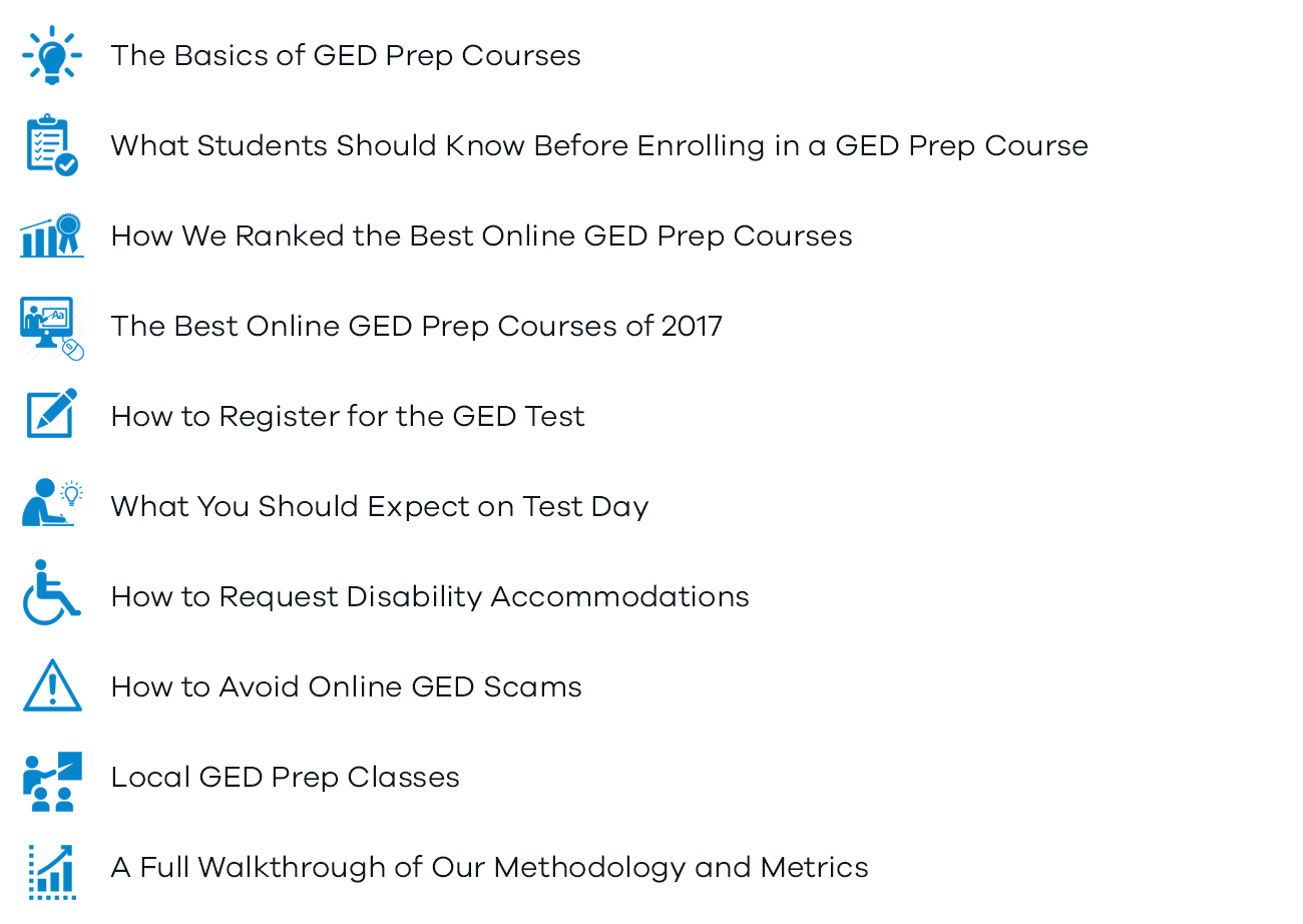 Best general equivalency degree test prep of 2018 reviews topics well cover in this guide xflitez Images