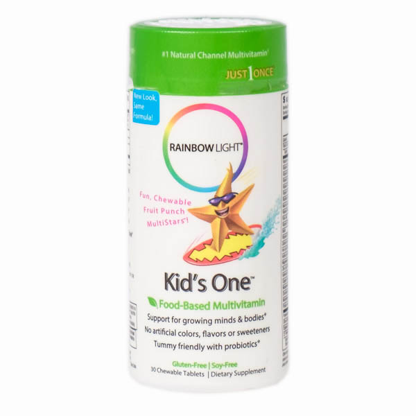 Rainbow Light Kids One MultiStars Food-Based Multivitamin
