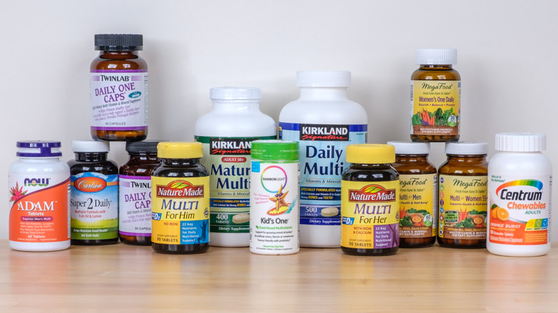 Components of Multivitamins for Men image