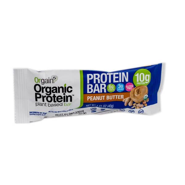 Orgain Organic Protein Bars Peanut Er