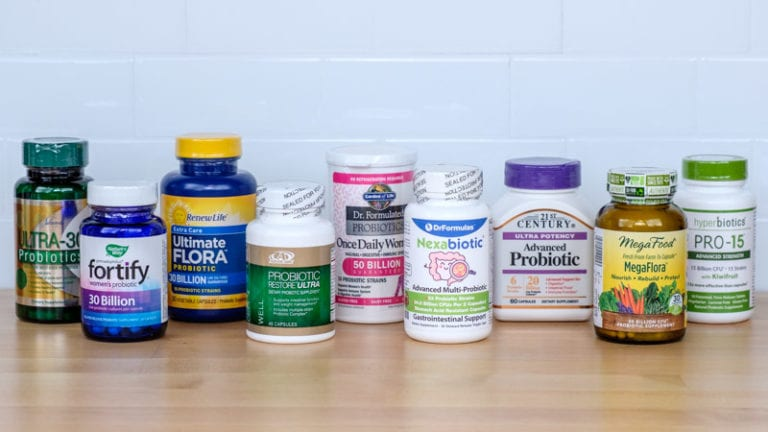 Group Shot for Probiotic Supplement
