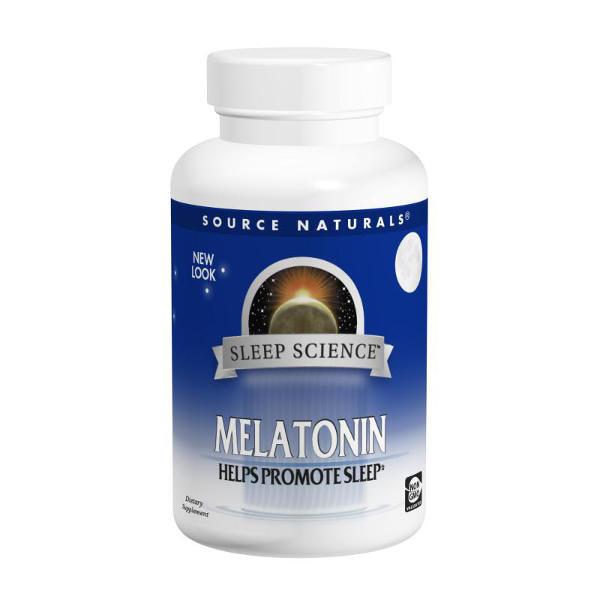Source Naturals Sleep Science Melatonin 1mg