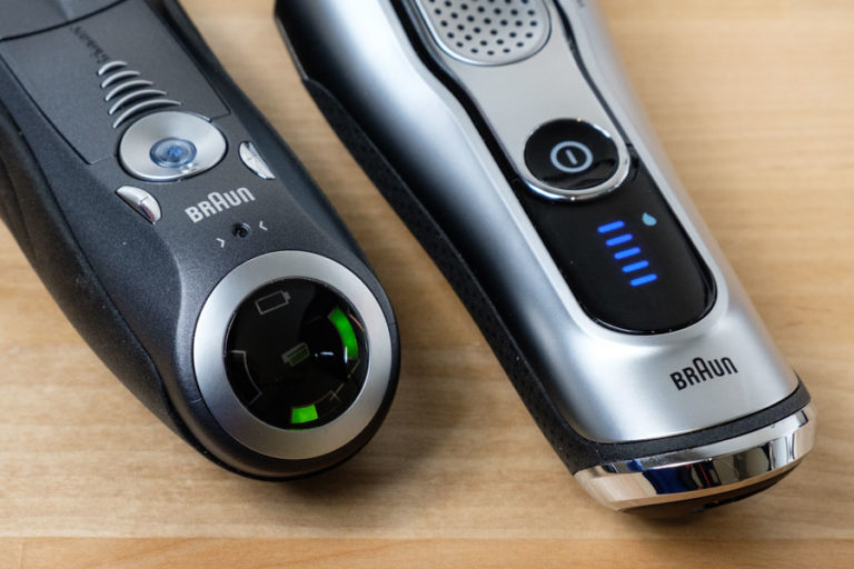 Braun Comparison for Electric Razor