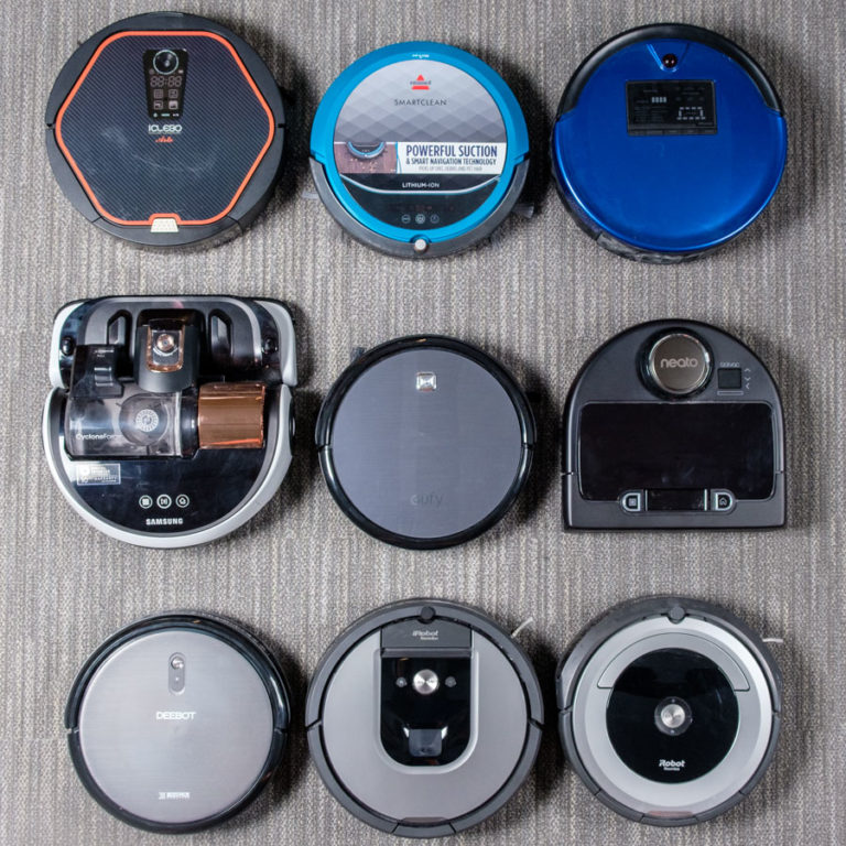 Robot Vacuum Group Shot