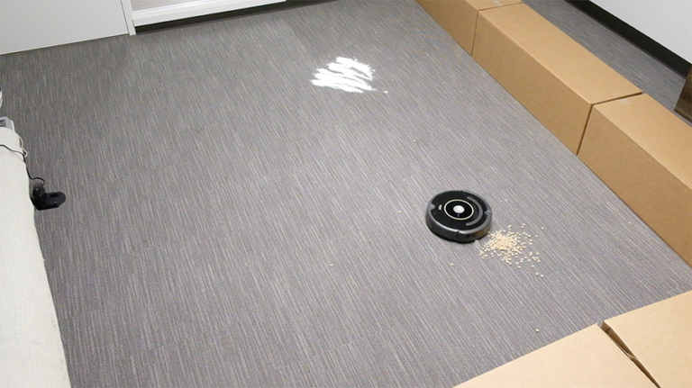 Test Setup for Roomba