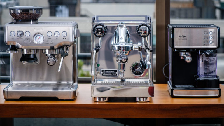 Finalists for Espresso Machine