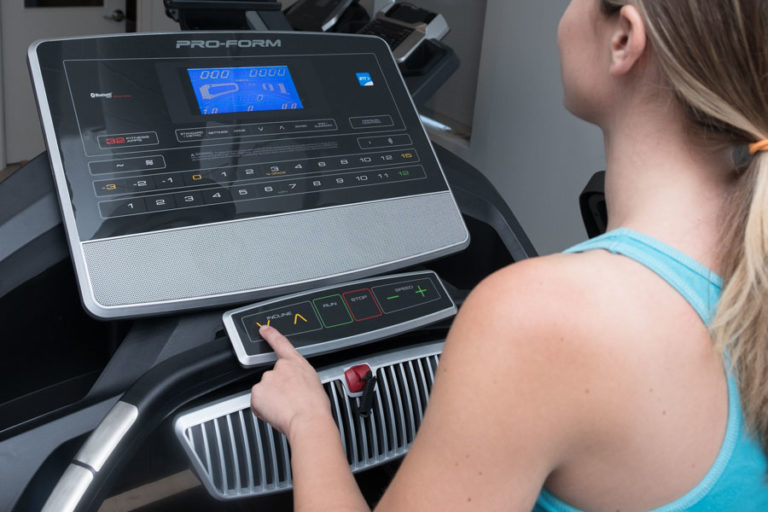 Controls for Treadmill