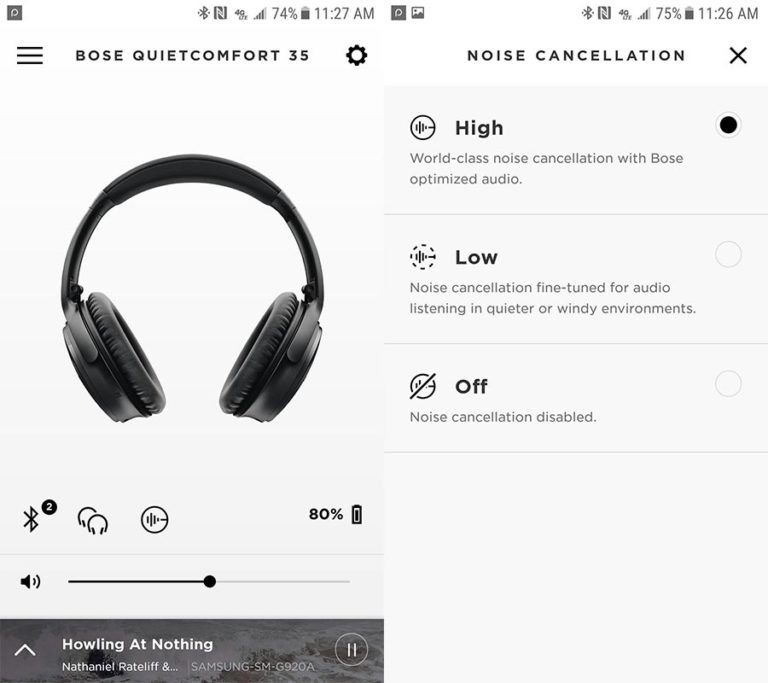 Bose for Noise-Canceling Headphones