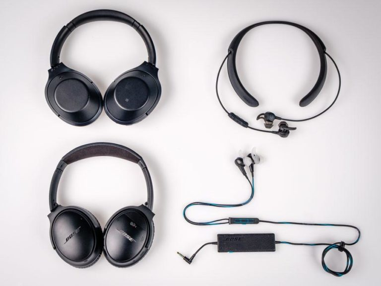 Finalists for Noise-Canceling Headphones