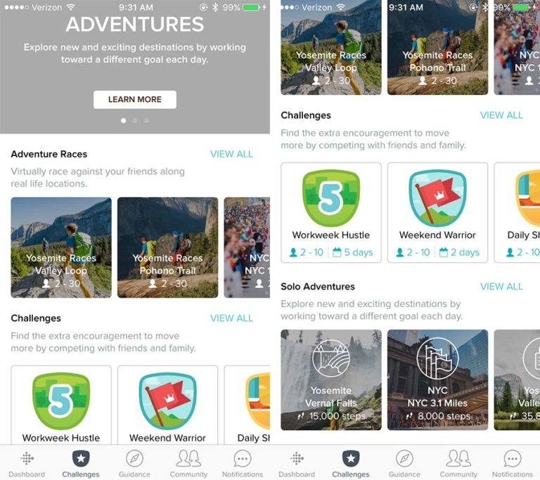 Adventure for Fitbit
