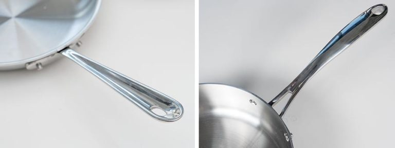 Handle Comparison for Cookware