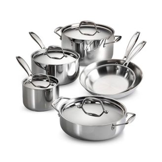 Home, Furniture & Diy Pan Sets Honest Steel Deep Stock Soup Pot Saucepan Cooking Stew Catering Casserole Pan With Lid