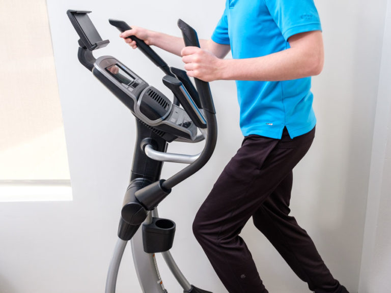 SpaceSaver for Elliptical Machines