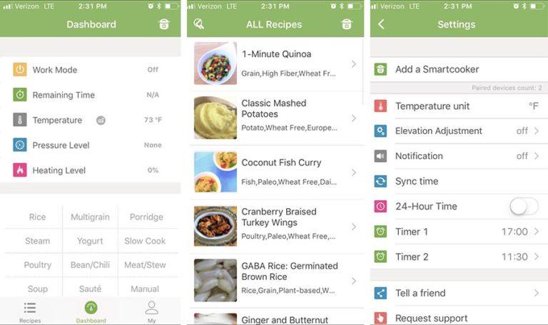 App for Pressure Cooker