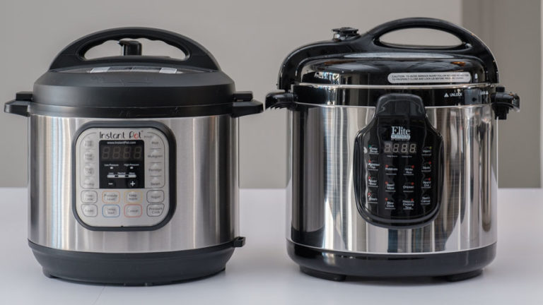 Side by side for Pressure Cooker
