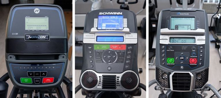 Console Comparison for Cheap Ellipticals