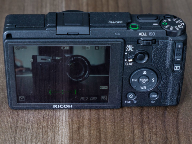 Ricoh Back for Digital Camera