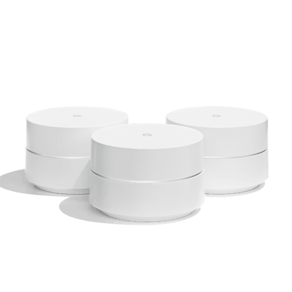 Google Wi-Fi AC1200 Dual-Band Whole Home Wi-Fi System (3-Pack)