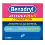 Benadryl Allergy Plus Congestion