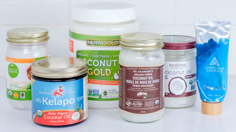Group Shot for Coconut Oil