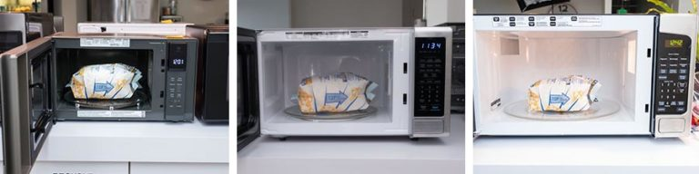 Size Comparison For Microwave